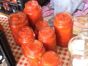 w la salsa di pomodori