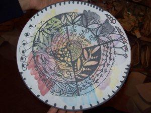 zen doodle ceramic