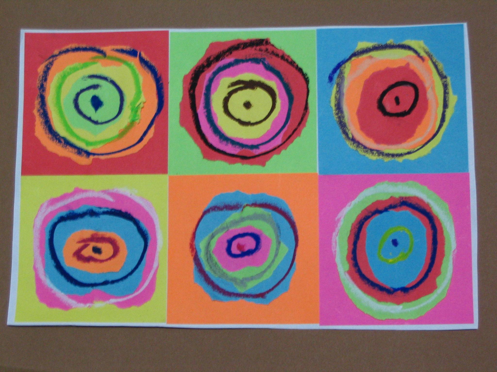 Super Era Kandinsky! Progetto di arte per bambini. | Tina Festa QR99