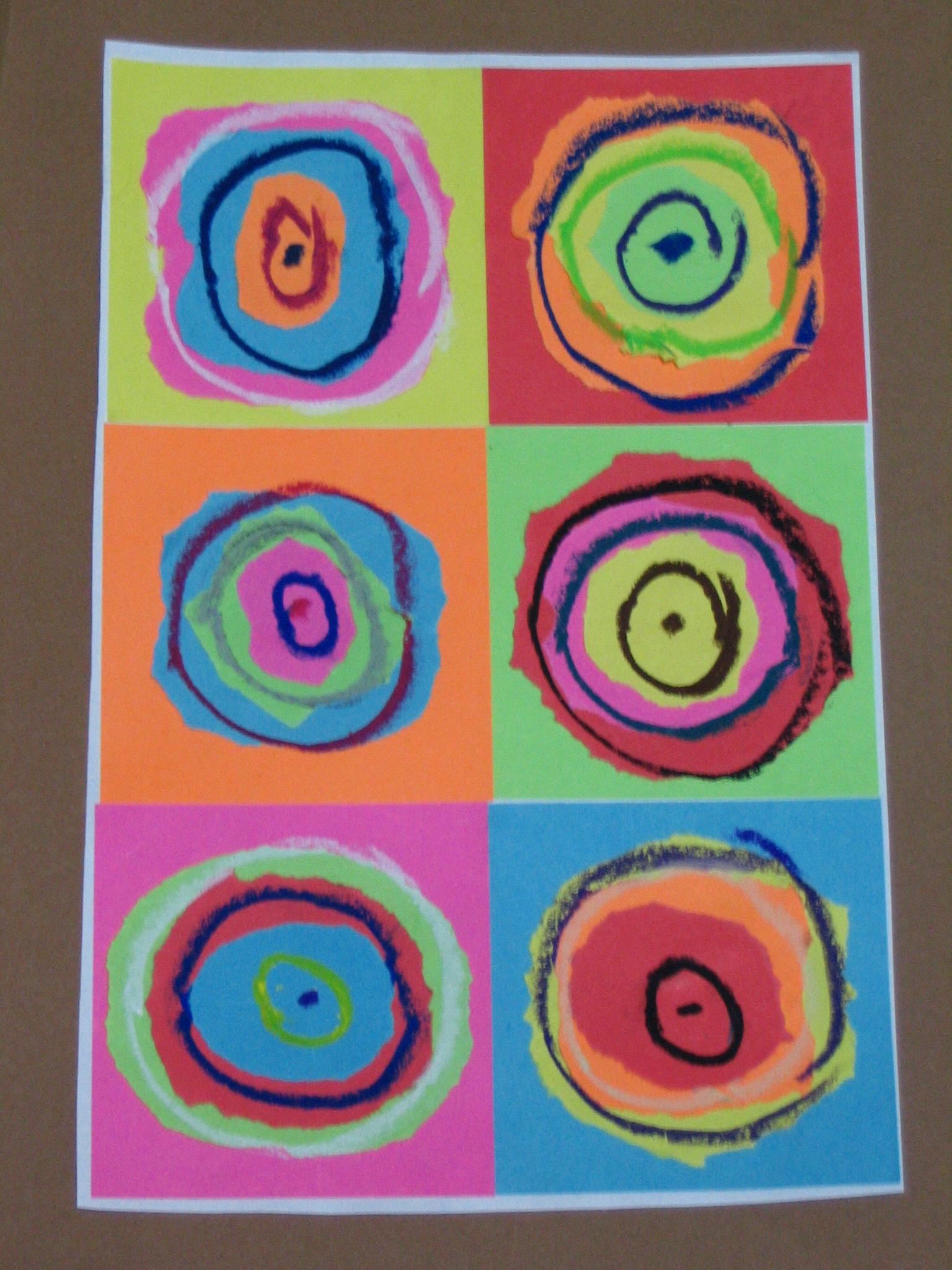 Extrêmement Era Kandinsky! Progetto di arte per bambini. | Tina Festa MF39