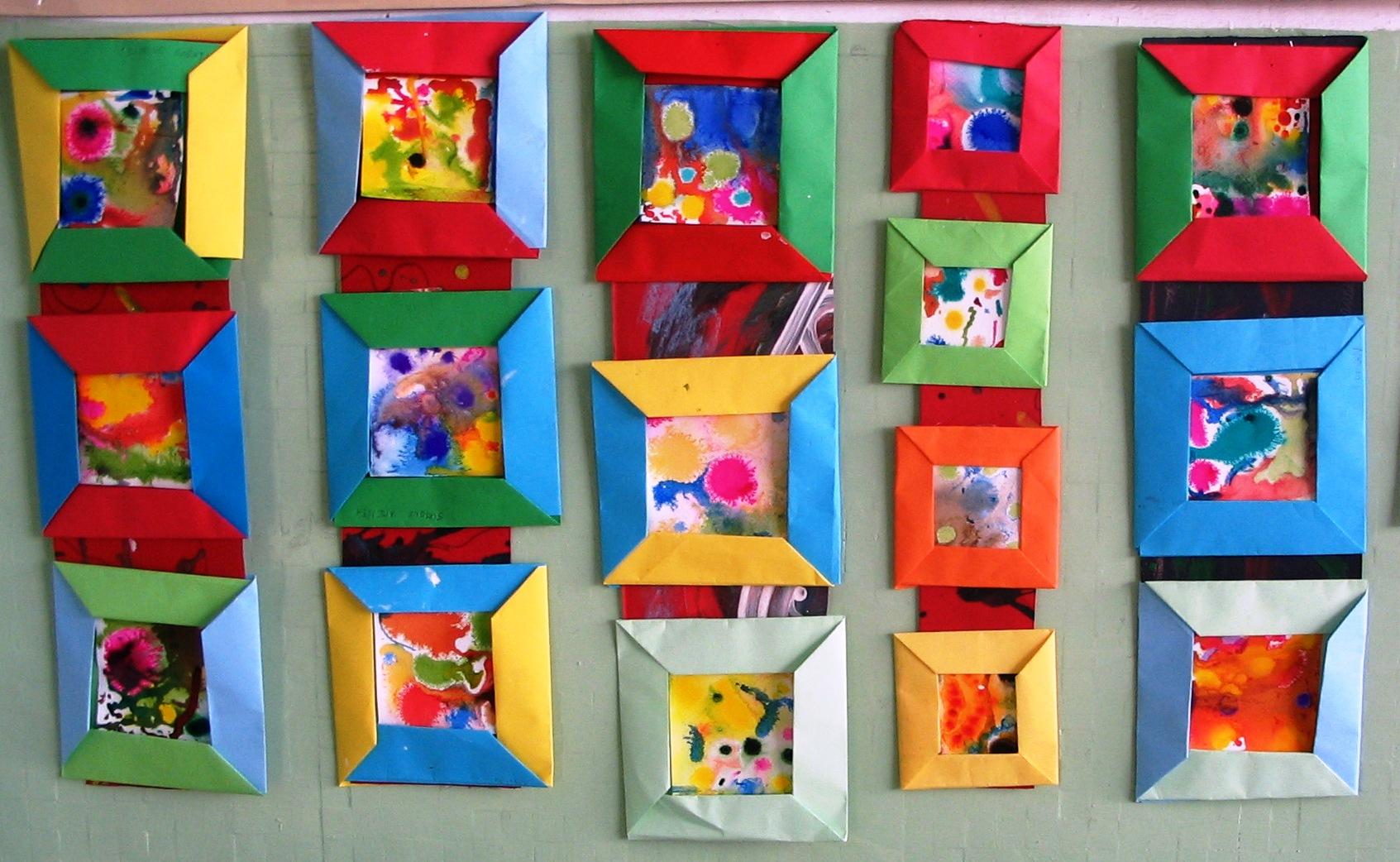 Cornici Colorate Per Foto cornici di carta per ogni occasione – prima parte | tina festa