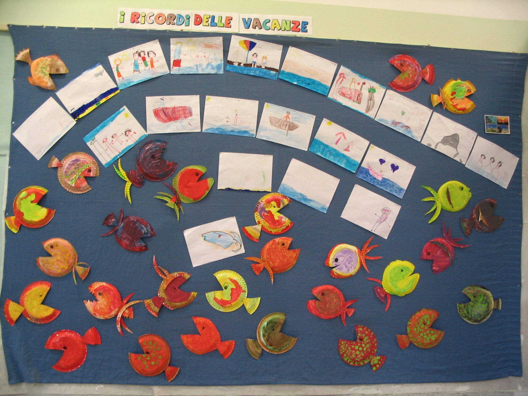 I ricordi delle vacanze attivit per la scuola dell for Cartelloni di natale per la scuola dell infanzia