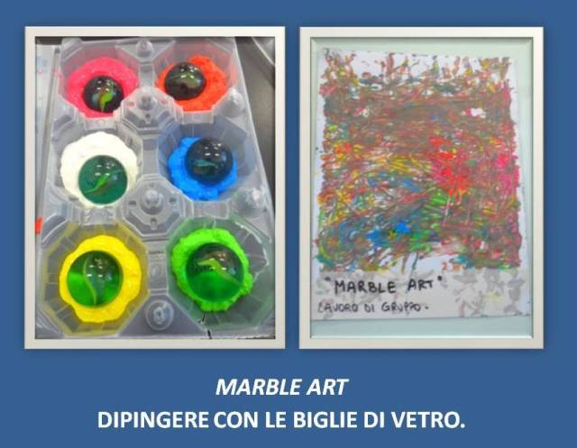 MARBLE ART A SCUOLA