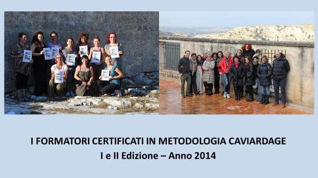 Formatori Certificati in Caviardage anno 2014